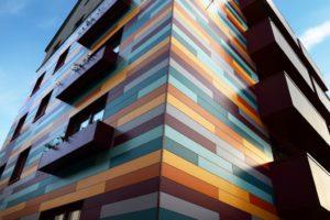 Алюминиевые композитные фасадные панели - характеристики и технические особенности