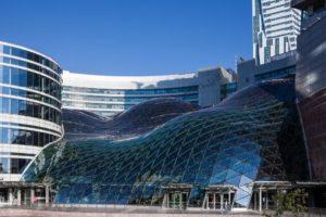 Алюминиевые стеклянные фасады
