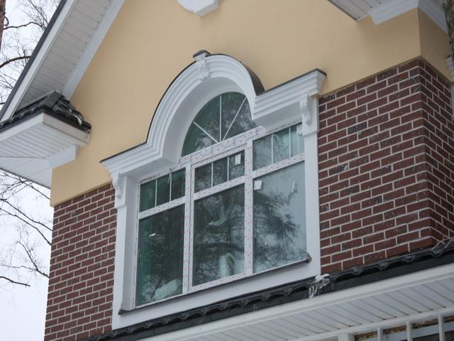 Архитектурная отделка фасада