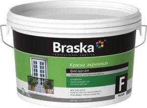 BRASKA акриловая фасадная краска