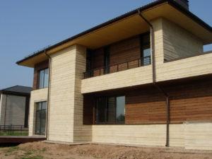 Бюджетный сайдинг для отделки фасада