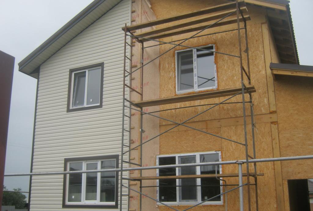 Чем отделать дом из сип панелей