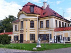 Двухэтажное здание в стиле барокко