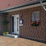 Способы отделки фасада дома клинкерной плиткой