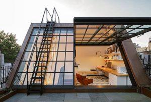 Фасадные стеклянные панели