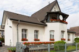 Фасады домов - короед