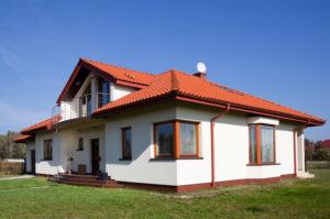 Фасады красивых одноэтажных домов