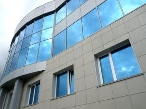 Фасад с вентилируемыми панелями