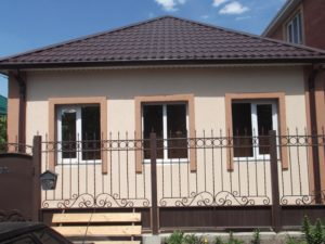 Готовый фасад