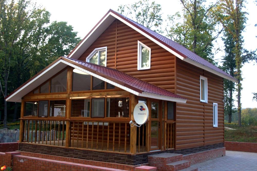 Каркасные дома из сип панелей - варианты отделки