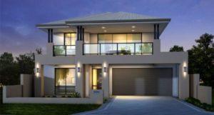 Красивые фасады двухэтажных домов