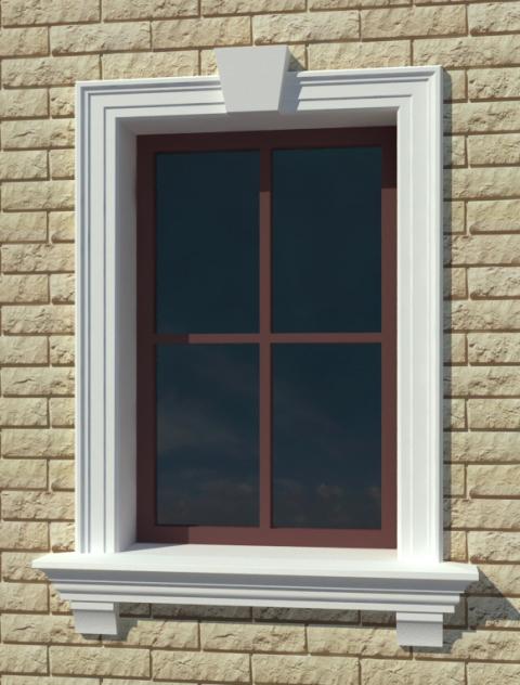 Лепнина для оформления окна