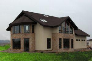 Натуральный камень для фасада дома