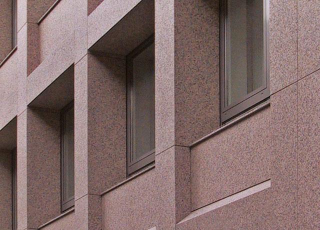 Натуральный камень для вентилируемого фасада