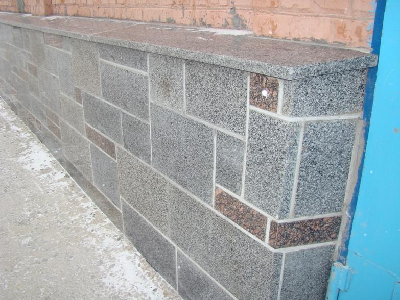 Облицовка цоколя керамическая плиткой