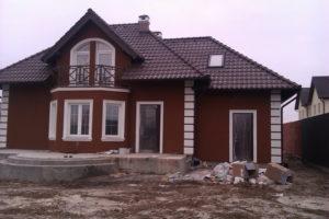 Окраска фасада домов