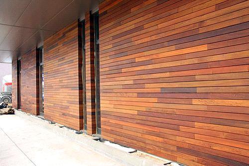 Отделка деревянным сайдингом