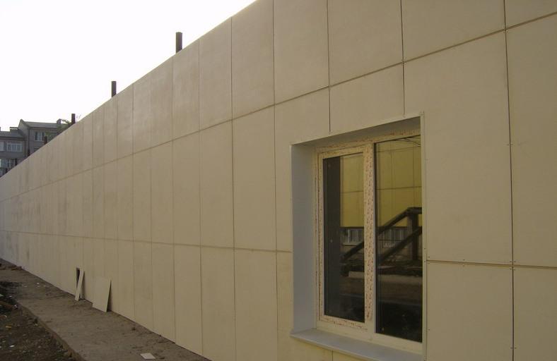 Отделка фанерой фасада