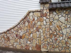 Отделка камнем фасадов