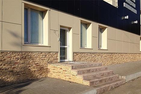 Плитка облицовочная для фасада и цоколя