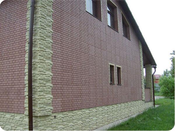 Подобный материал имеет потрясающий внешний вид и отлично впишется в любой фасад
