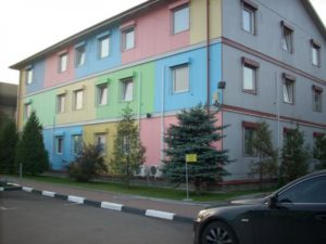 Покраска фасадов и стен