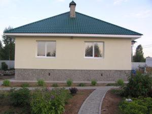 Проект одноэтажного дома в технологии строительства дома из газобетонных блоков