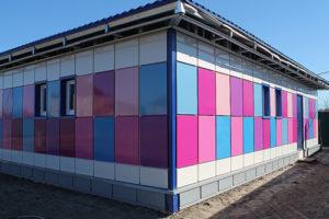 Разноцветные композитные панели