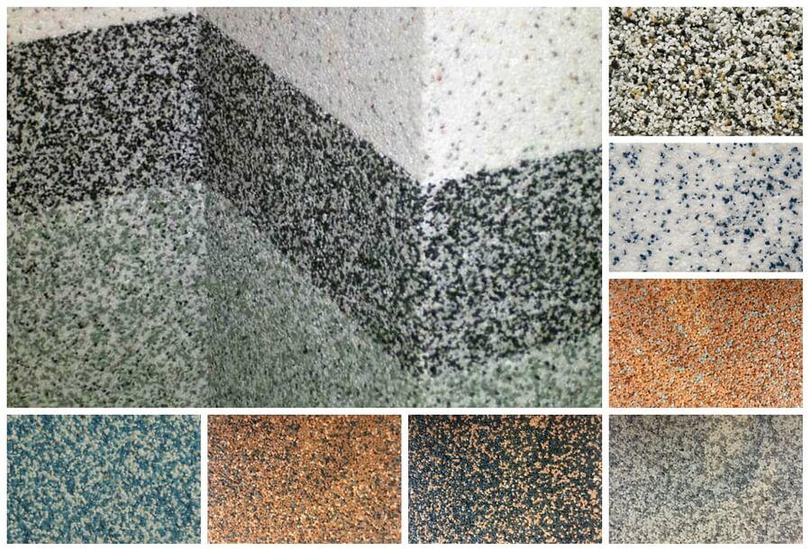 Разновидности минеральной штукатурки