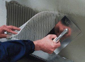 Как крепить сетку для армирования