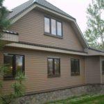 Фасад дома под сайдинг, советы и варианты