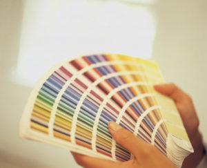 Цветовая палитра красок