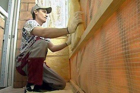 Утепление стенок балкона после смены остекления