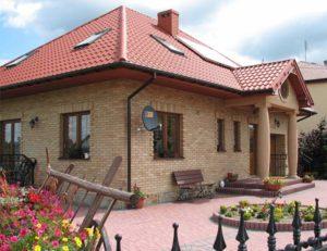 Виды отделки фасадов домов - клинкер