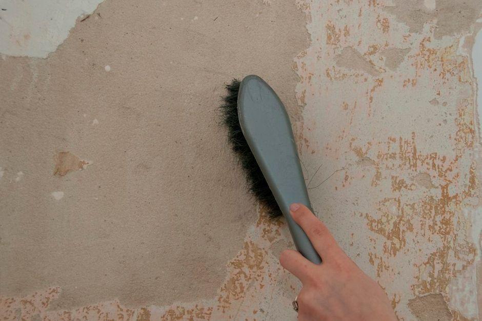 Зачистка поверхности от пыли и грязи