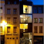 Фасад четрырехэтажных домов