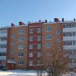 Фасад пятиэтажных домов