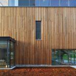 Фасад, созданный на основе дерева