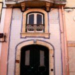 Фасад, выполенный в розовом цвете