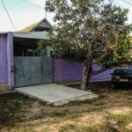 Фиолетовый фасад для дома