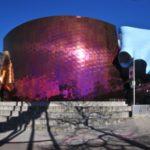 Фиолетовый оттенок фасада
