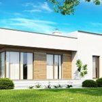 Создаем фасад с плоской крышей