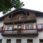 Интересный вариант фасада с балконом