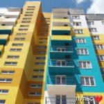 Как красиво оформить фасад десятиэтажного дома