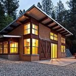 Как односкатная крыша влияет на оформление фасада