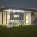 Как правильно оформить фасад с плоской крышей