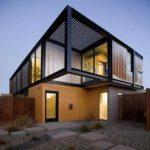 Как правильно оформить квадратный фасад