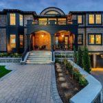 Как сделать красивый фасад трехэтажного дома