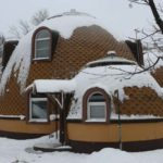 Как сделать круглый фасад необычным