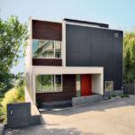Как создать красивый фасад квадратной формы